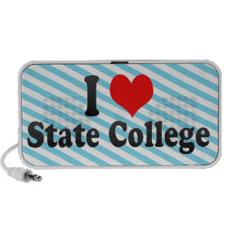I Love State College, United States Mp3 Speaker