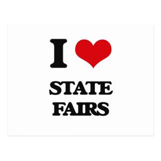 I love State Fairs Postcard
