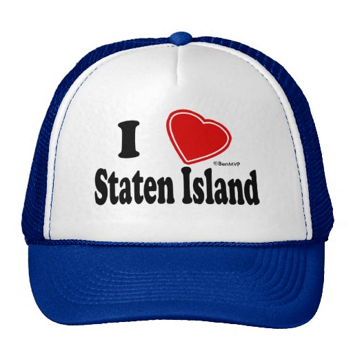 I Love Staten Island Hats