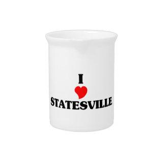 I love Statesville Beverage Pitchers