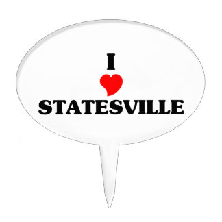 I love Statesville Cake Toppers