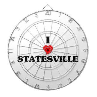 I love Statesville Dart Board