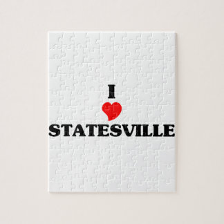 I love Statesville Jigsaw Puzzles