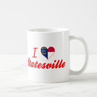 I Love Statesville, North Carolina Classic White Coffee Mug