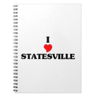I love Statesville Note Book