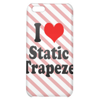 I love Static Trapeze iPhone 5C Covers