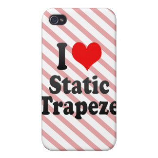 I love Static Trapeze iPhone 4/4S Cover