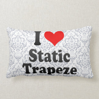 I love Static Trapeze Throw Pillow