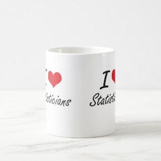 I love Statisticians Classic White Coffee Mug