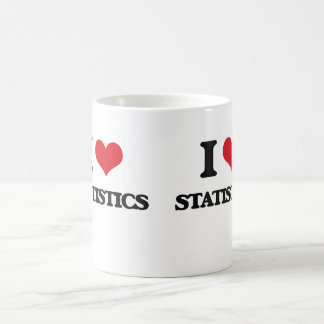 I Love Statistics Coffee Mug