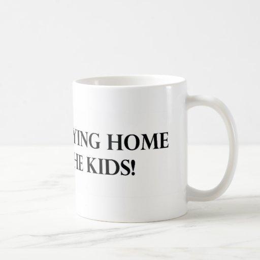 I Love Staying Home With The Kids.jpg Mugs
