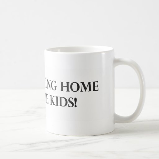I Love Staying Home With The Kids.pdf Mugs