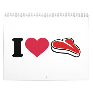 I love Steak Calendar