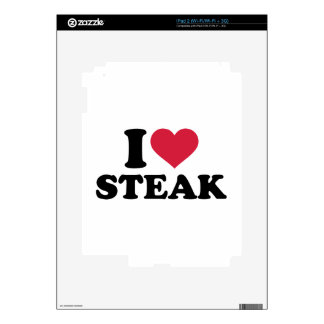 I love Steak Decals For The iPad 2