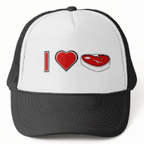 I love Steak Trucker Hat
