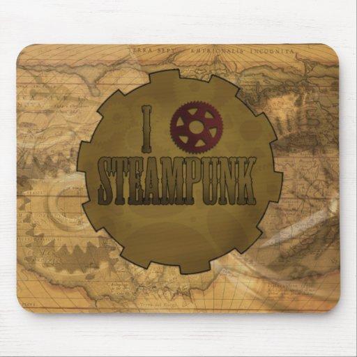 I love Steampunk Mousepad
