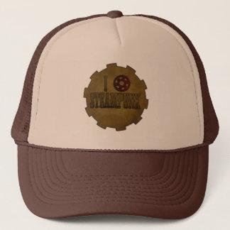 I Love Steampunk Trucker Hat