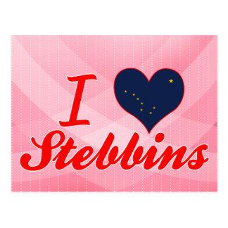 I Love Stebbins, Alaska Postcards