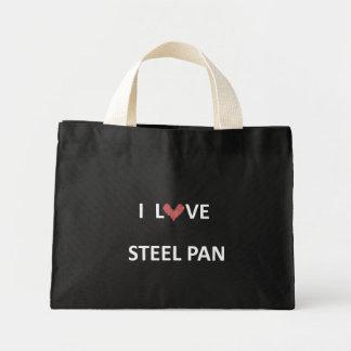 I Love Steel Pan Tote Mini Tote Bag