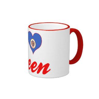 I Love Steen, Minnesota Coffee Mugs