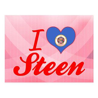 I Love Steen, Minnesota Post Card