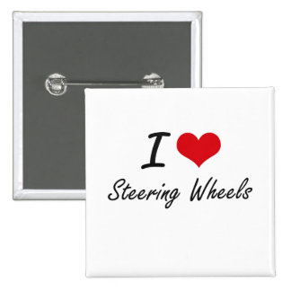 I love Steering Wheels 2 Inch Square Button