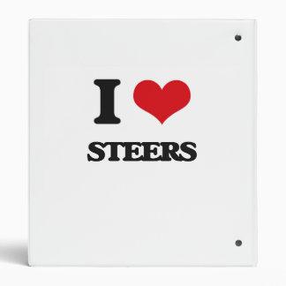 I love Steers 3 Ring Binders