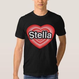 I love Stella. I love you Stella. Heart T Shirt