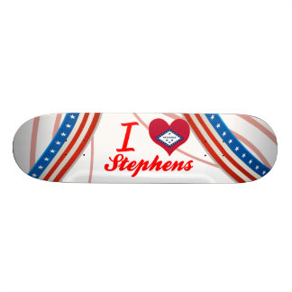 I Love Stephens, Arkansas Skate Board