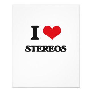 I love Stereos Flyer