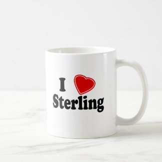 I Love Sterling Coffee Mug