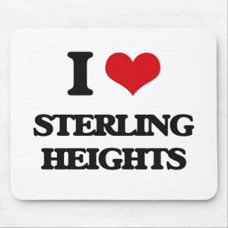 I love Sterling Heights Mouse Pad