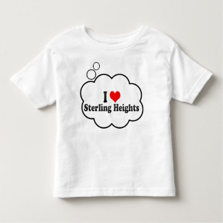 I Love Sterling Heights, United States Toddler T-shirt