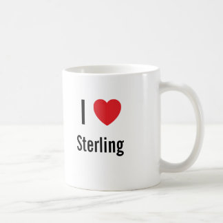 I love Sterling Classic White Coffee Mug