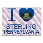 I Love Sterling, PA Greeting Card