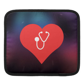 I Love Stethoscopes Icon Sleeves For iPads