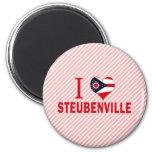I love Steubenville, Ohio Magnets