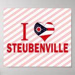 I love Steubenville, Ohio Poster