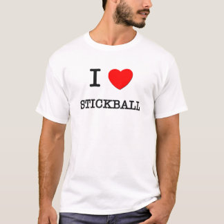 I Love Stickball T-Shirt