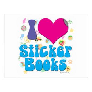 I love Sticker books! Postcard