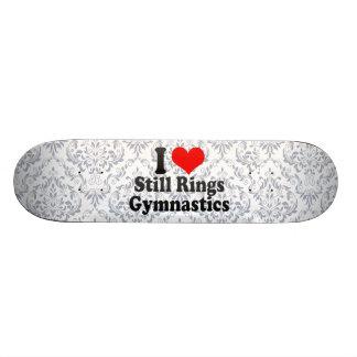 I love Still Rings Gymnastics Skate Board Decks