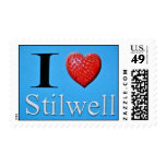 I Love Stilwell Stamp