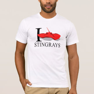 I Love Stingrays T-shirts
