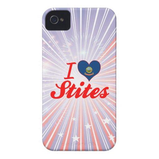 I Love Stites, Idaho iPhone 4 Case-Mate Cases