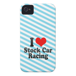 I love Stock Car Racing iPhone 4 Covers