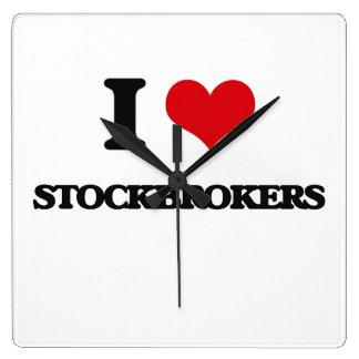 I love Stockbrokers Wall Clock