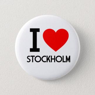 I Love Stockholm Button