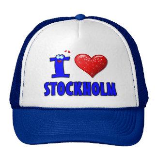I LOVE  STOCKHOLM  HAT