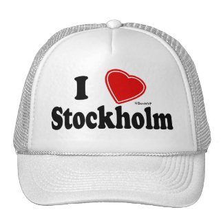 I Love Stockholm Trucker Hat