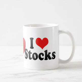 I Love Stocks Coffee Mug